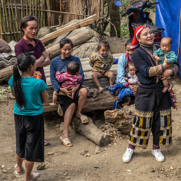 Within the Red Dao traditional culture, young women marry and have children in their mid-teens.