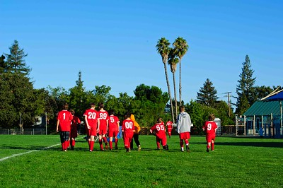 Mustang Soccer 2010 Team Revolution Game 7