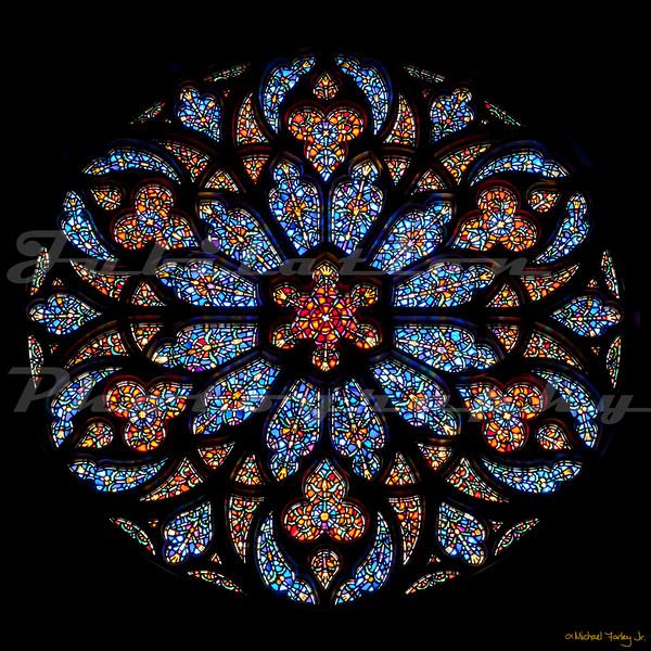 St. Paul's Episcopal Church - The Rose Window.