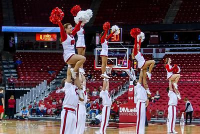 UW Sports - Cheerleaders - November 06, 2016
