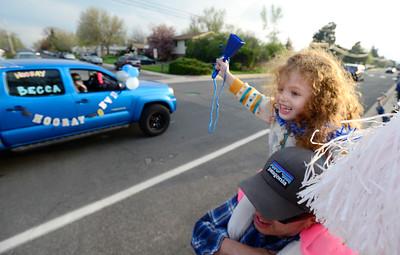 Photos: Broomfield High Senior Parade