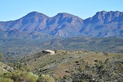 Bunyeroo Valley Scenic Drive, Flinders Ranges, SA.