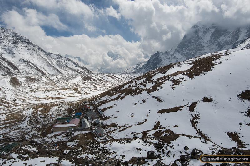 Lobuje village, 4910m