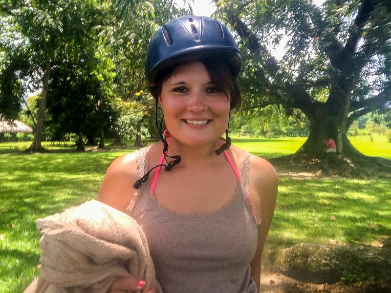 My jockey wife