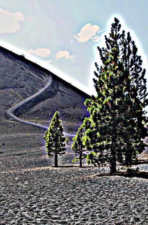 Cinder Cone: Lassen National Park