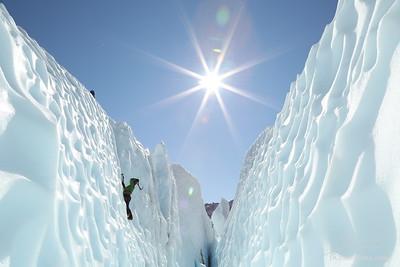 Ice Climbing with Chris