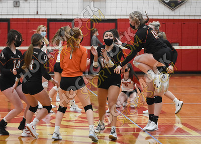 North Attleboro - Oliver Ames Volleyball 03-10-21