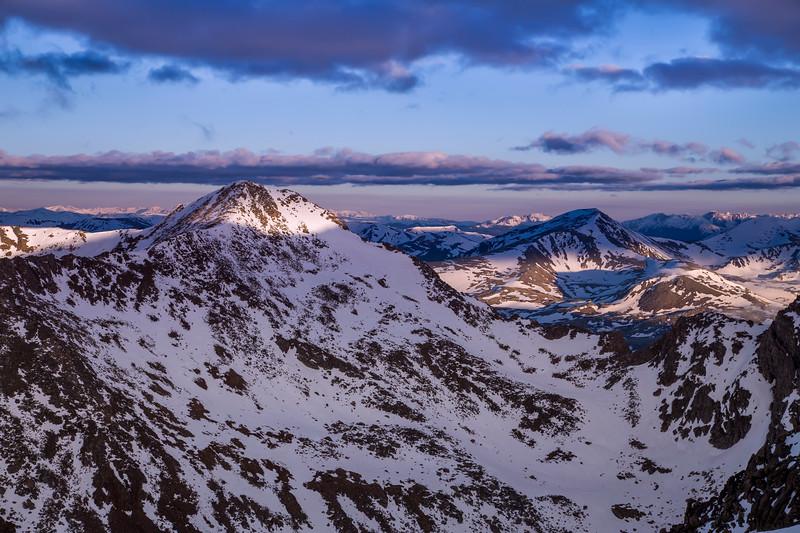 Mount Bierstadt Morning Light