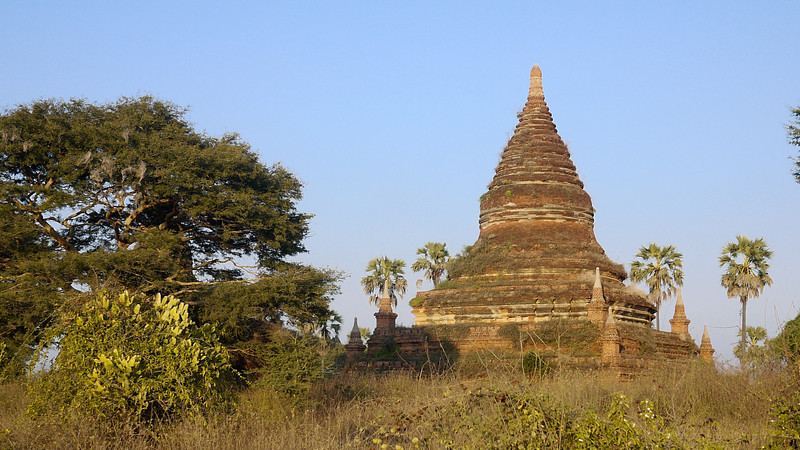 Temples in Bagan, Burma (Myanmar)