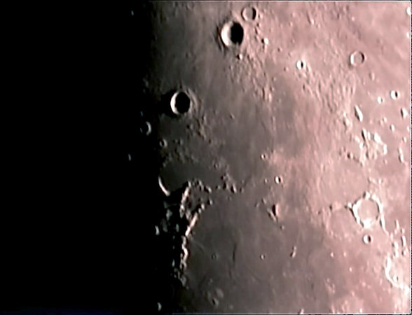 This photo of Mare Cognitum, Mare Isularum and Montes Riphaeus. Was taken on 12/29/06 with a meade etx 125 and a sac 7 ccd.