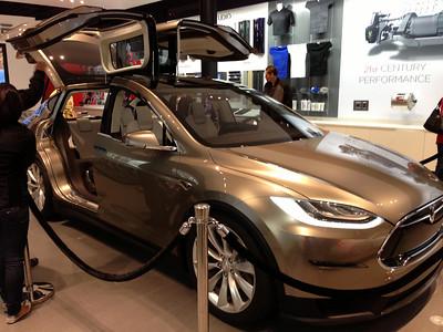2012-10-03 Tesla Model X in Garden State Mall in Paramus, NJ
