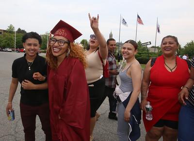 Lowell High graduation