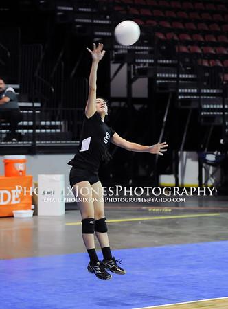 11-6-14 - Ganado vs Northwest Christian - AIA D4 Volleyball Playoff