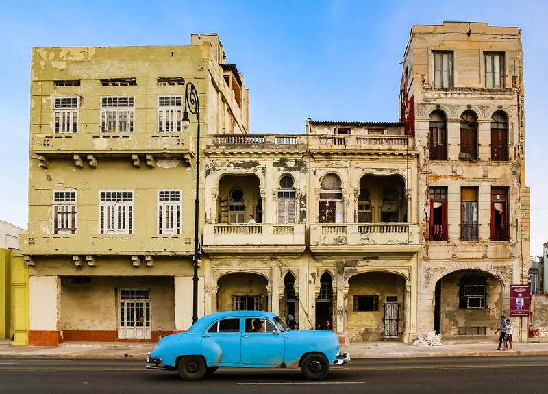 Classic Cars on the Havana Malecon 3