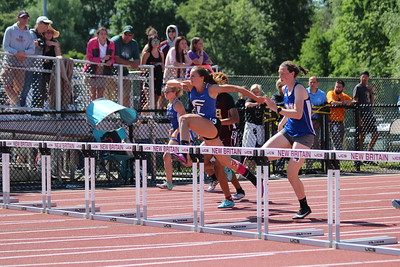 Girls 100m Hurdle Trials