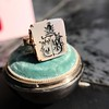 'Pineapple Family Crest' Chalcedony Ring, by Seal & Scribe 25