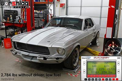 Adam Budge '67 Mustang Track Car