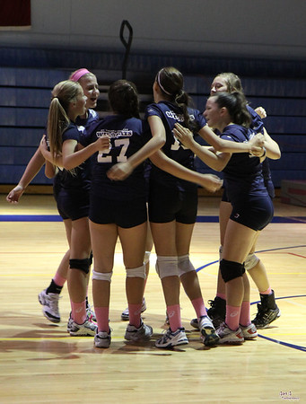 STA DPL Volleyball - STA vs St Monica and CKS (10/8/2011)