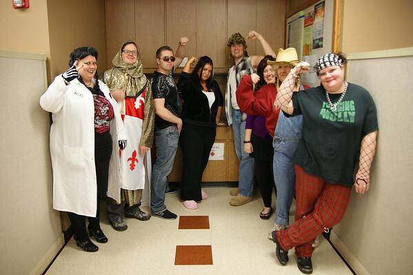 Halloween at Work 2010