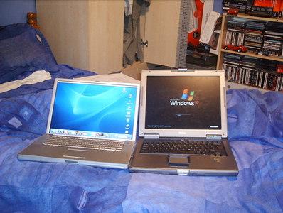 Dell Inspiron 510M VS PowerBook G4 15Inch