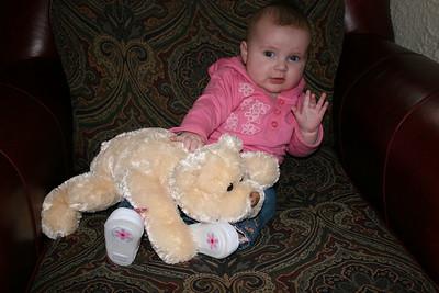 Isabelle, 5 months old