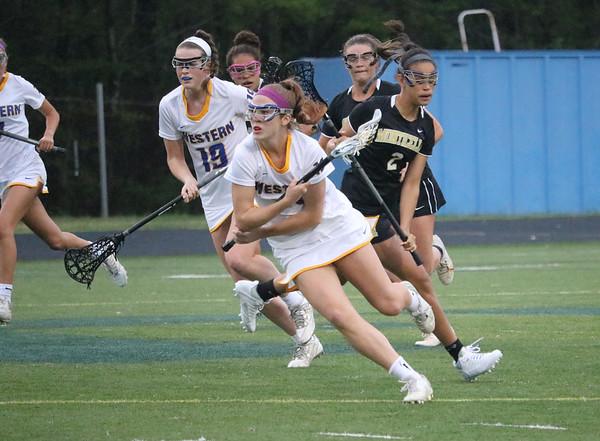 Western versus Monticello girls lacrosse 2017