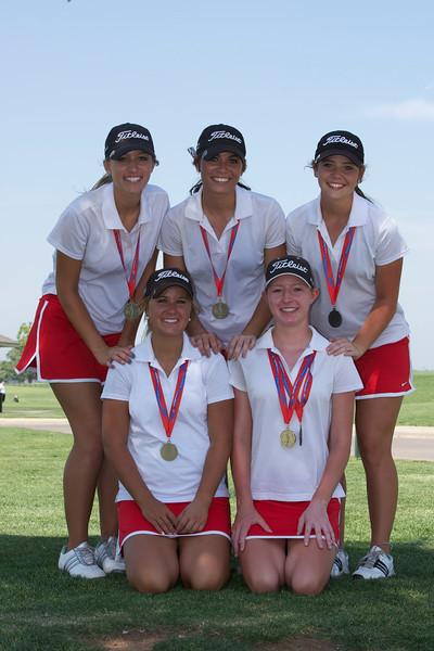Hilldale 4A State Golf 2012