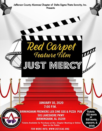 Red Carpet Feature Film Just Mercy