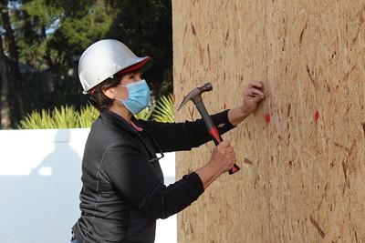 Construction Volunteers 1/23/2021