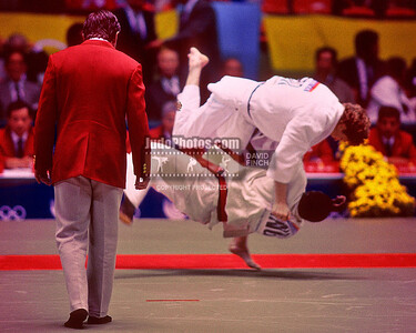1988 Seoul Olympic Judo 25th September to 1st October