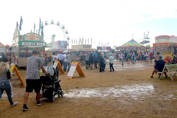 Gillespie County Fair Saturday evening 2021