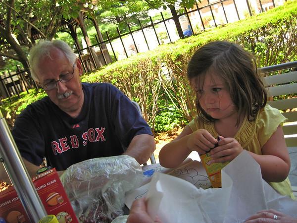 Grandma and Grandpa July 2011