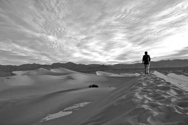 Telescope Peak - Sand Dunes