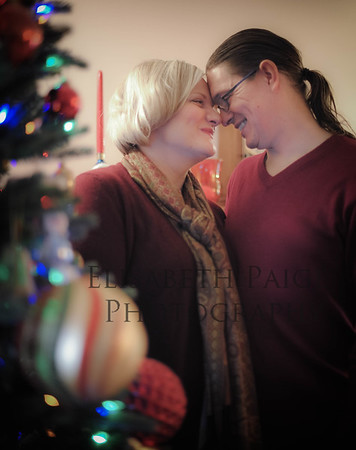 Carol & Thaddeus holiday photos