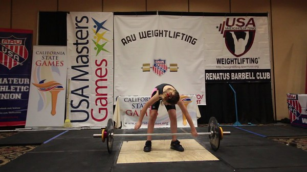 California Games Weightlifting