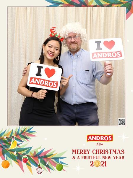 ANDROS   Christmas & New Year instant print photo booth   Chụp hình in ảnh lấy li�n Giáng sinh 2020   WefieBox Photobooth Vietnam