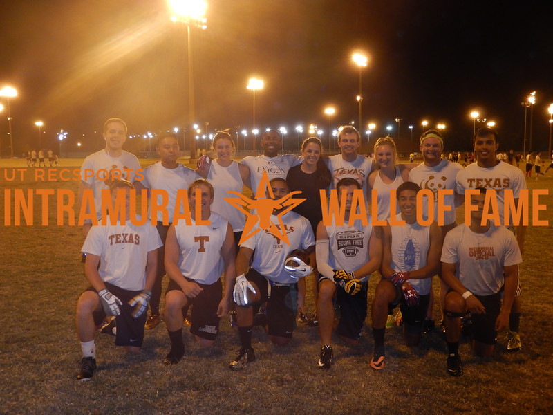 Fall 2015 Flag Football Orange A Champion Charged Up