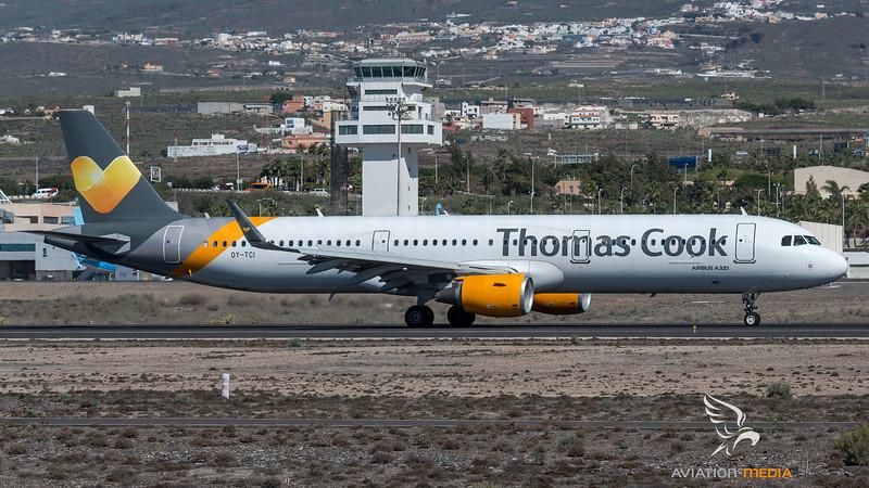 Thomas Cook Scandinavia / Airbus A321-211(WL) / OY-TCI