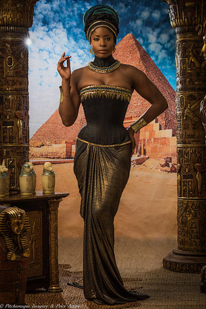 Egyptian Corsetry Shoot