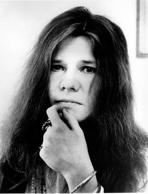 . This is a 1970 photo of rock singer Janis Joplin.  (AP Photo)
