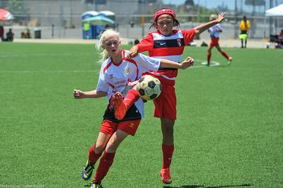 CSC Girls (U11) at Crusaders Cup 7-5-2014
