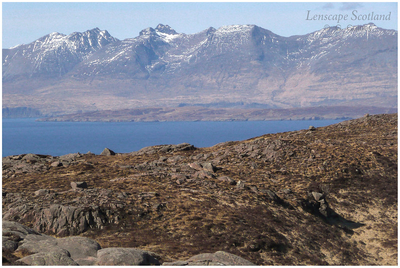 Skye Cuillins from Meall a'Ghoirtein