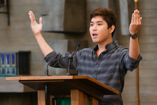 Aug 24, 2014 - 11:30 Mass by Fr. Jack
