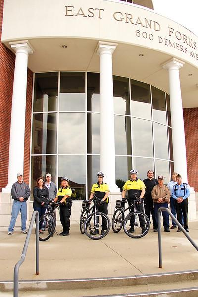 EGF Police Bikes