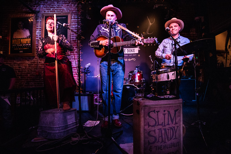 Slim Sandy & the Hill Billy Boppers