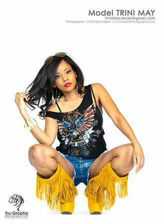 Model: Trini May - American Eagle
