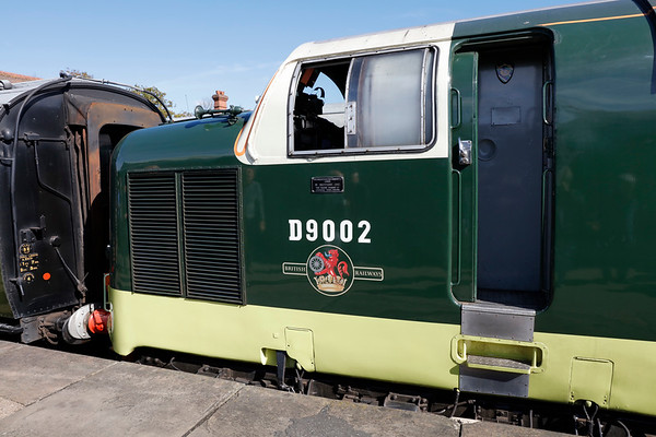 Deltic Preservation Society 40th Anniversary Event October 2017