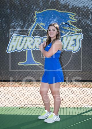Wren Girls Tennis Team photos 9-29-17