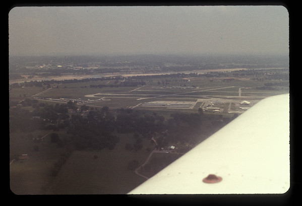 Flying over Tulsa 1973