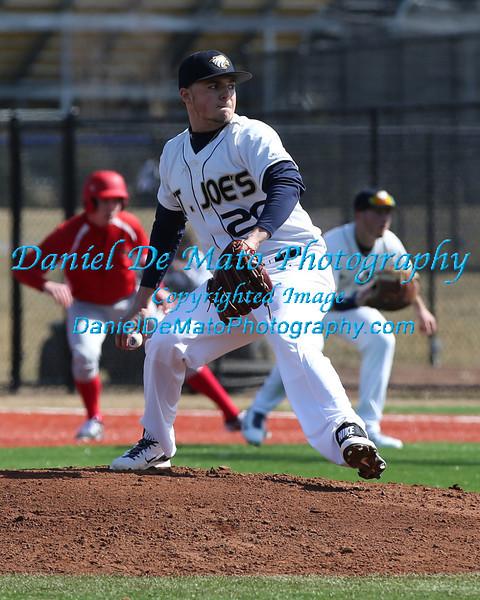 St. Joseph's Baseball vs Plattsburgh State 3-8-14